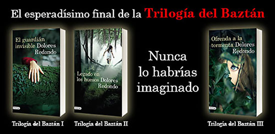 Trilogía Dolores Redondo Valle del Baztán