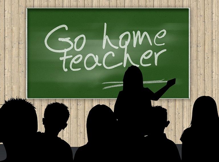 Go home teacher