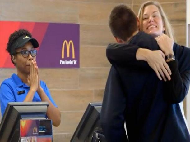 MacDonalds abrazos