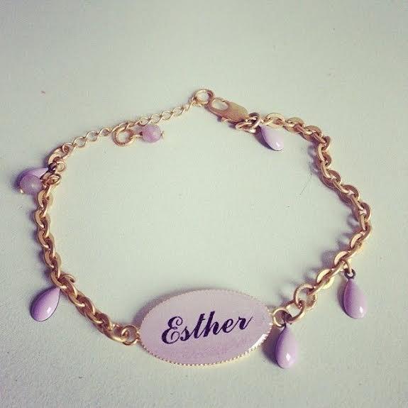 pulsera personalizada Taller Ginger &Velvet