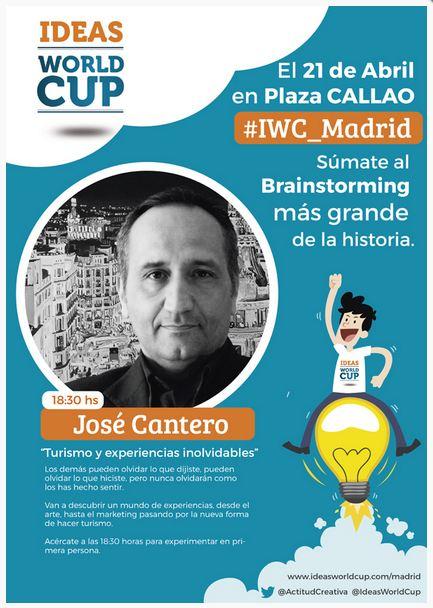 José Cantero formador, consultor y conferenciante en marketing experiencial y customer experience