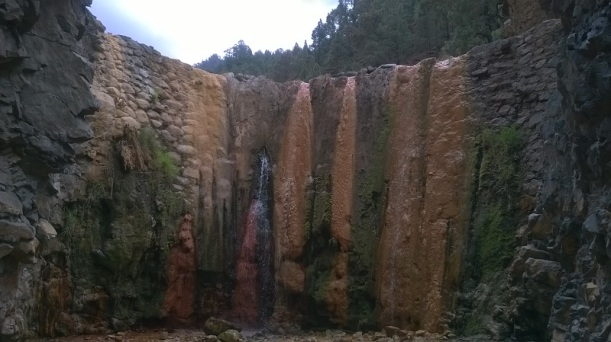 Cascada de Colores en Caldera Taburiente