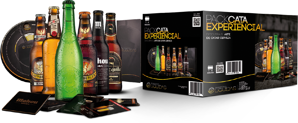 Pack experiencial cata