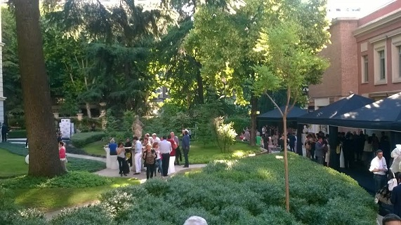 Jardines Museo Lázaro Galdiano evento