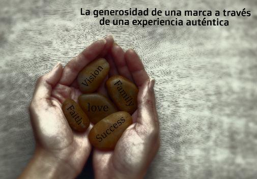 la generosidad de una marca a través del marketing experiencial