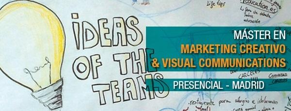 Master en marketing creativo y comunicación visual