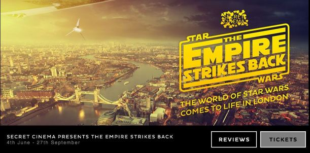 Secret Cinema Star Wars