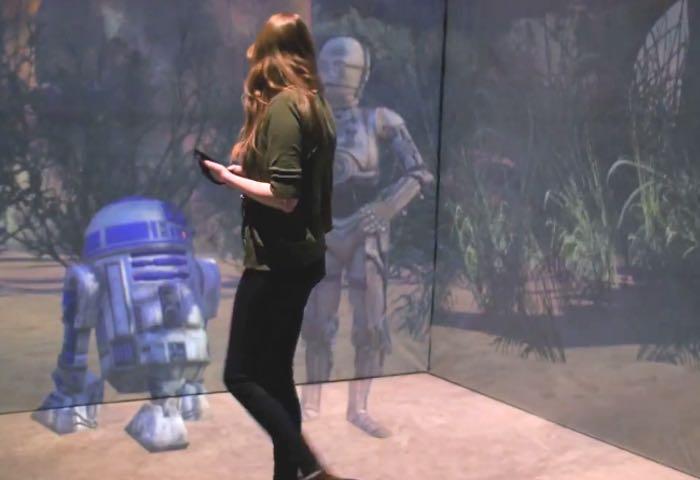 Realidad aumentada Star Wars
