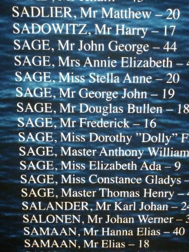 Titanic Familia SAGE