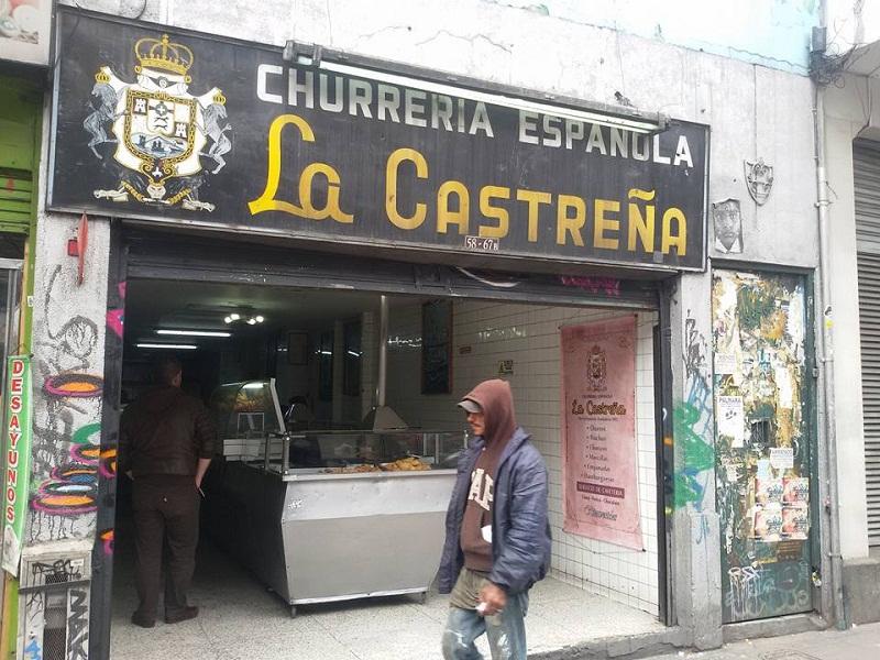 Churrería Española en Bogotá