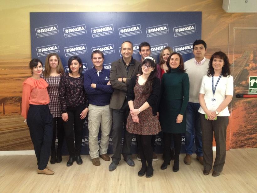 Visita Pangea Travel Store alumnos Master en Marketing creativo