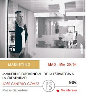 Curso presencial de marketing experiencial y emocional Foxize