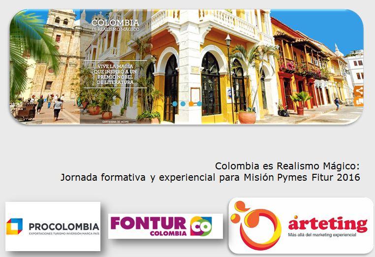 Jornada formativa Misión Pymes Procolombia Fitur 2016