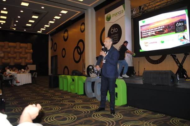 José Cantero Congreso de marketing de centros comerciales en Colombia