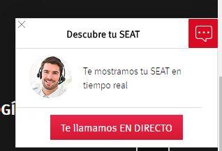 Te mostramos tu seat en tiempo real