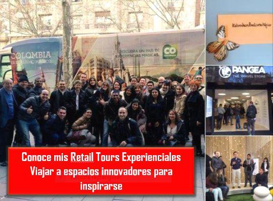 Retail tours experienciales