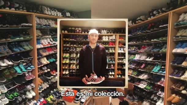 Josh luber un sneakerhead un coleccionista de zapatillas raras o limitadas