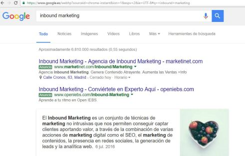 qué es inbound marketing