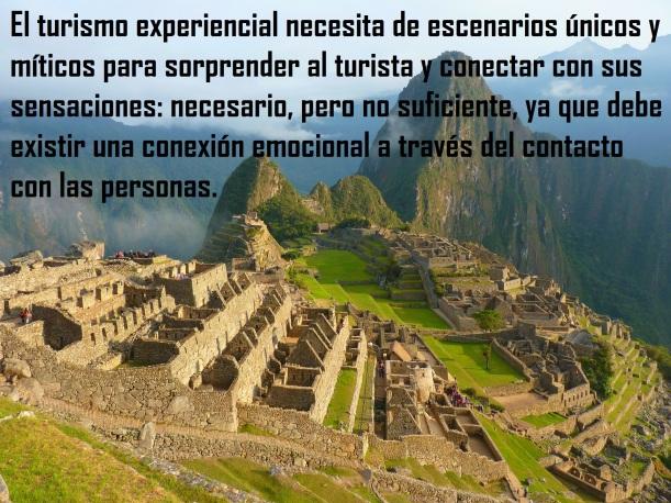Turismo experiencial