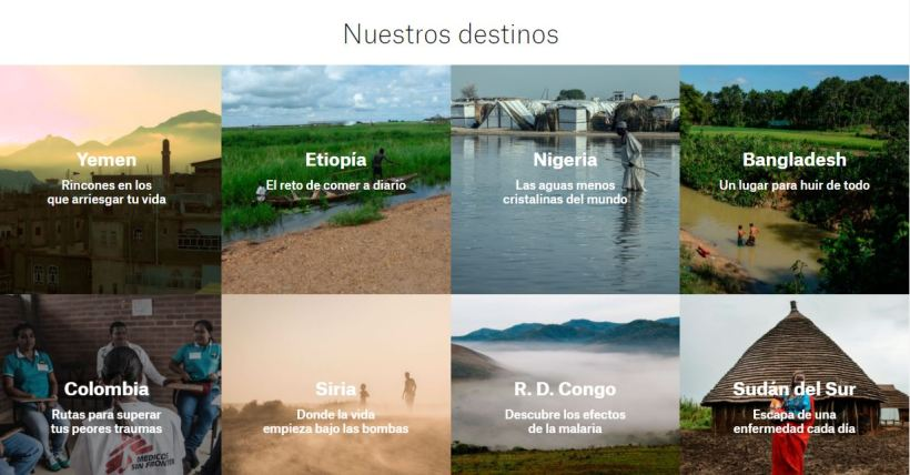 VolandoVa campaña captación fondos Médicos sin fronteras