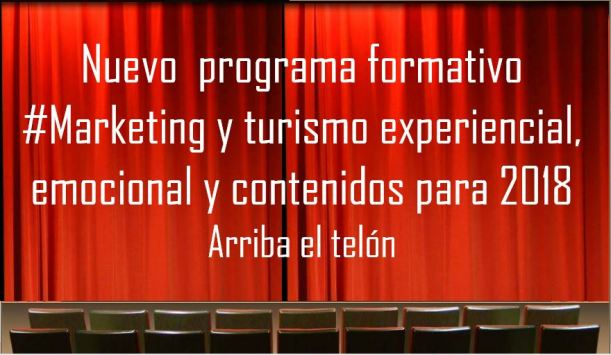 Programa formativo marketing y turismo experiencial