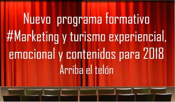 Programa formativo marketing y turismo experiencial